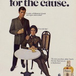 Old school whisky advertising