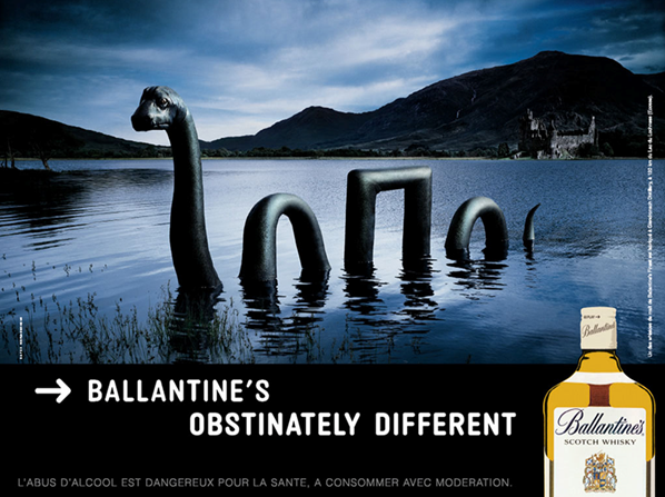 25 scotch whisky print ads