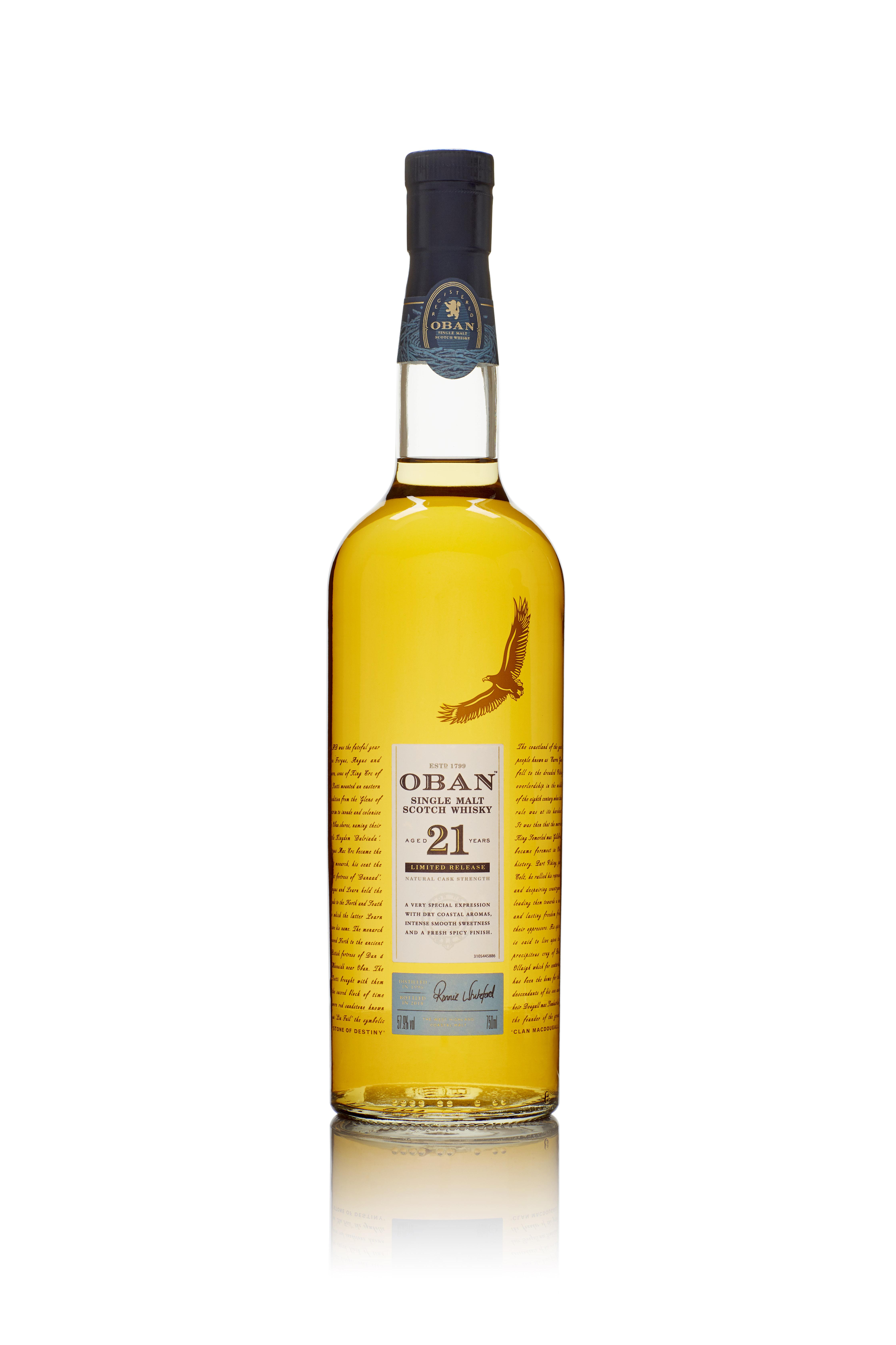 6281307 SR2018 Oban21 Bottle 750ml