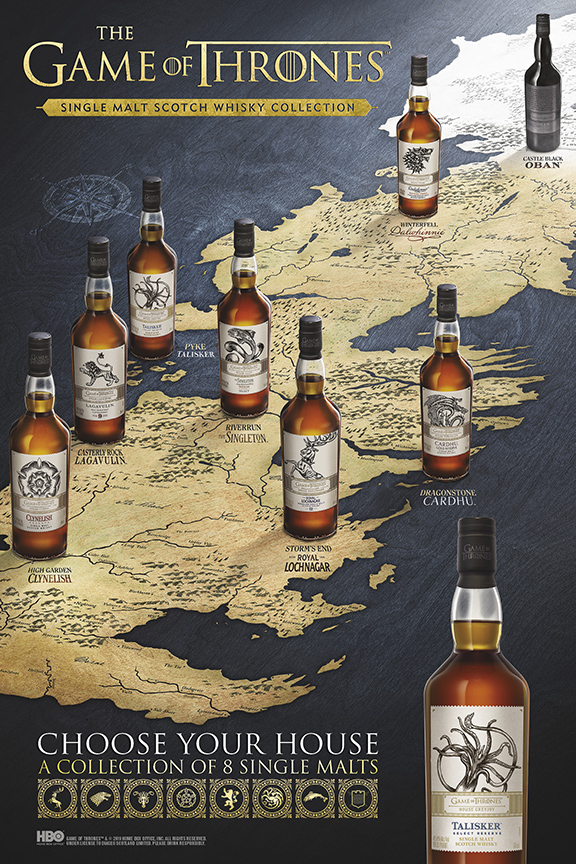 Game of Thrones Single Malt Scotch Whisky Collection Westeros Map Horizontal11 1